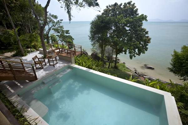 Beach Front Pool Villa - 1 bedroom