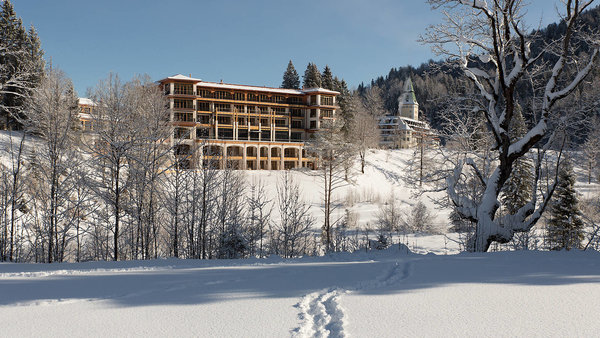 The Sunday Times - Schloss Elmau helped me get back on my feet