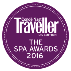 CONDE NAST TRAVELLER SPA AWARDS - BEST SPECIFIC CLINIC 2016