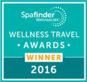 Spa Finder Wellness Award 2016