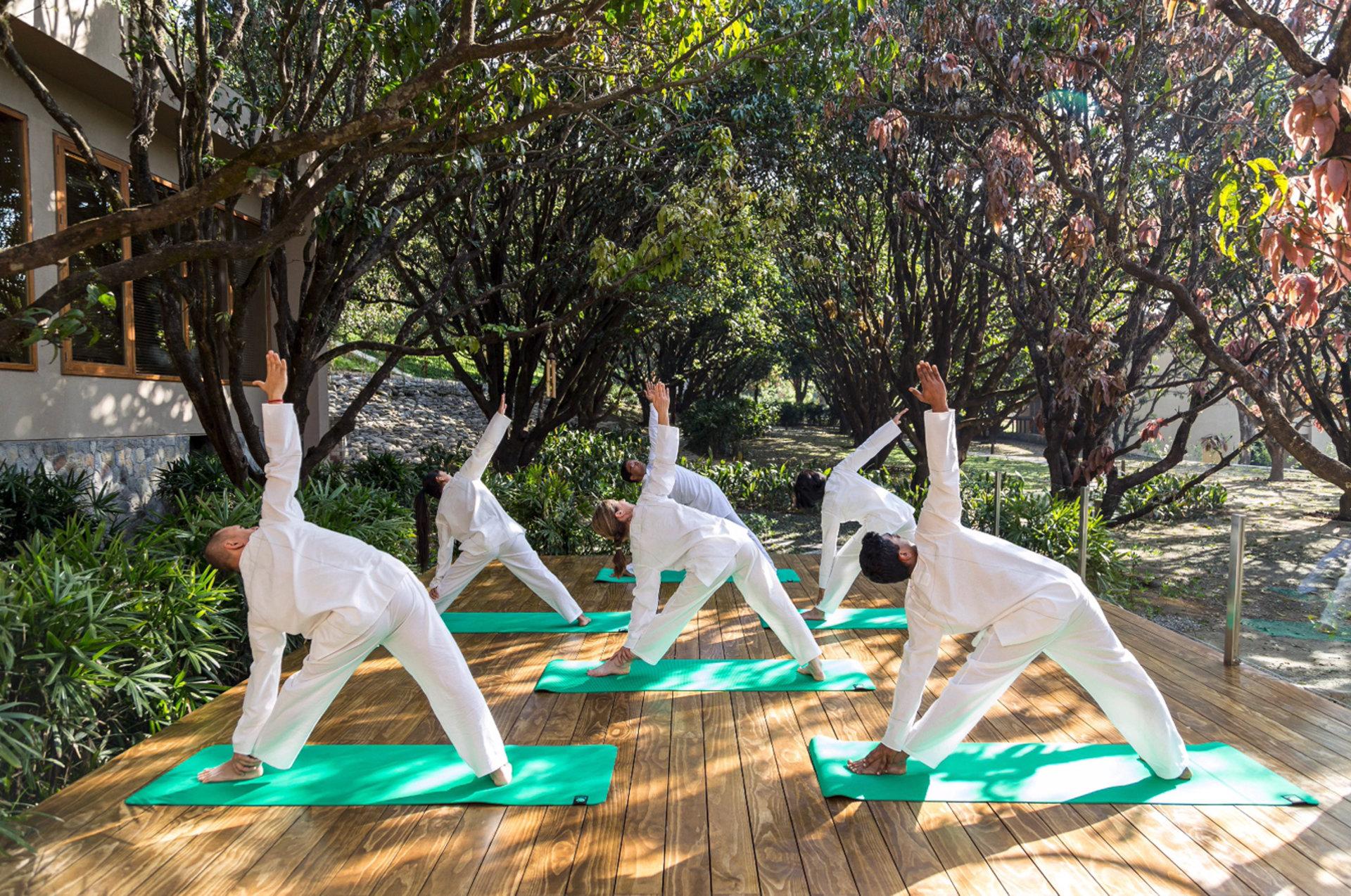 Wellness retreat at Vana