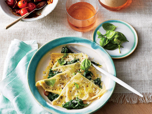 Spinach And Basil Ravioli Recipe By Park Igls