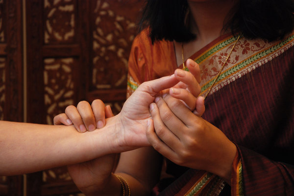 Touch In Ayurveda