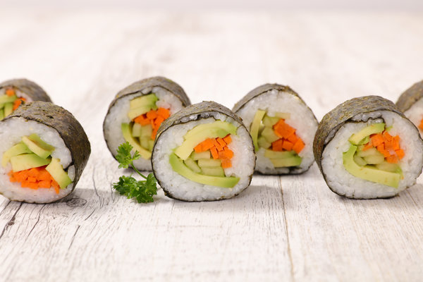 Vegan Sushi Recipe From L'Albereta