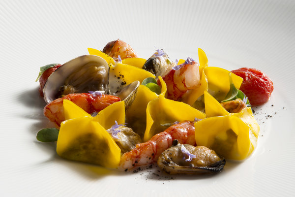 Healthy Seafood Pasta Recipe From Lefay