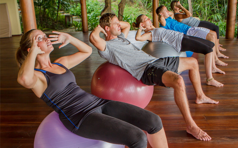 Kamalaya exercise